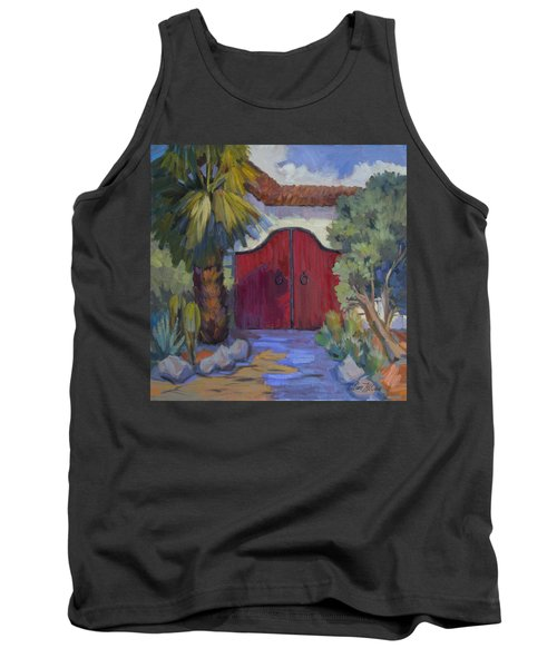 Casa Tecate Gate 2 Tank Top by Diane McClary