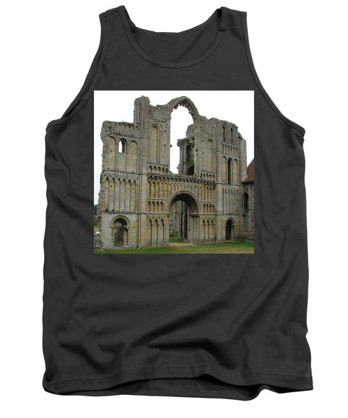 Tank Top featuring the photograph Castle Acre Abbey by Stephanie Grant