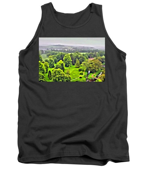 View From The Castle Tank Top
