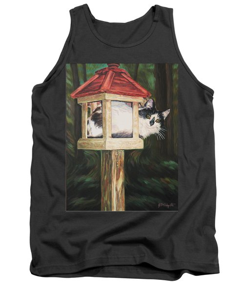 Cat House Tank Top