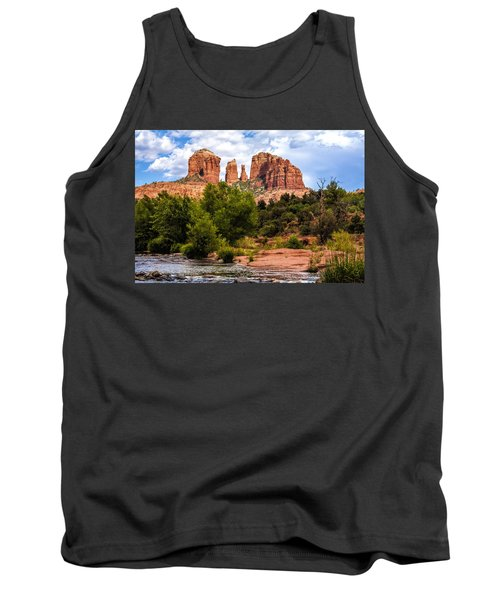 Cathedral Rock Tank Top by Fred Larson
