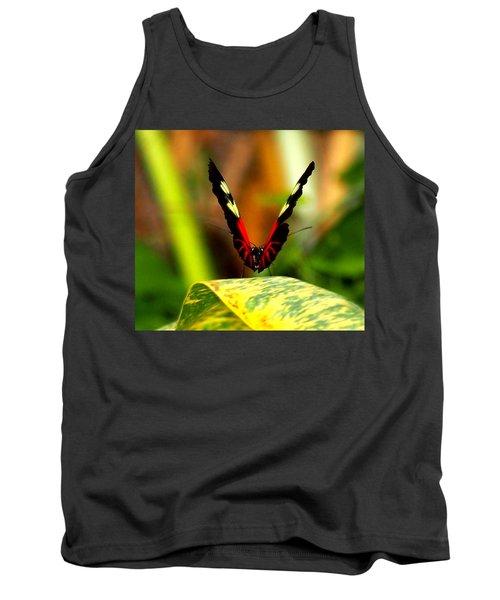 Cattleheart Butterfly  Tank Top by Amy McDaniel