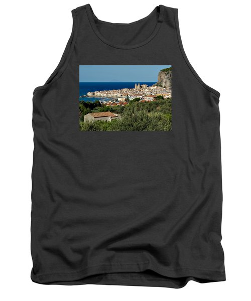 Cefalu Sicily Tank Top by Alan Toepfer