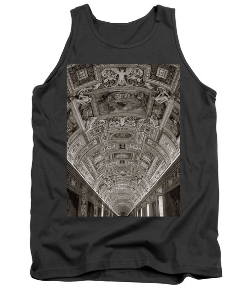 Ceiling Of Hall Of Maps Tank Top