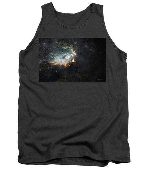 Celestial Tank Top by Cynthia Lassiter