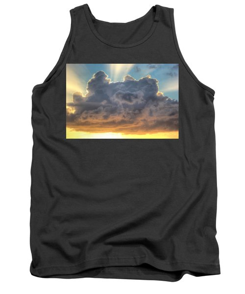 Celestial Rays Tank Top by Shelley Neff
