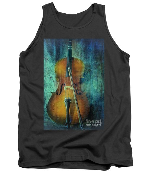 Cello  Tank Top by Erika Weber