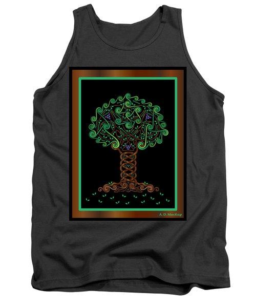 Celtic Tree Of Life Tank Top