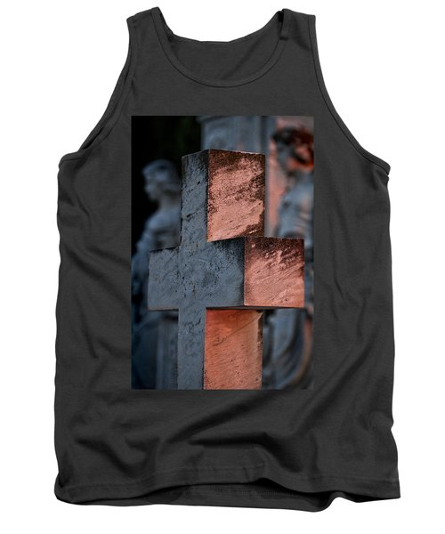 Cemetery Cross - Hvar Croatia Tank Top