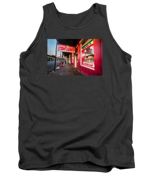 Central Grocery And Deli In New Orleans Tank Top by Andy Crawford