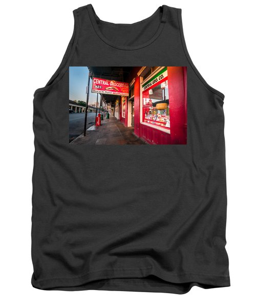 Central Grocery And Deli In New Orleans Tank Top