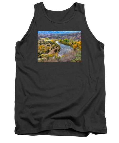 Chama River Overlook Tank Top by Alan Toepfer