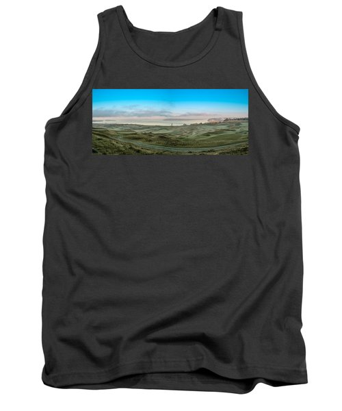 Chambers Bay Panorama Tank Top by E Faithe Lester
