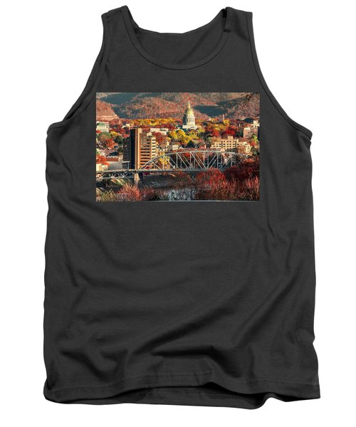 Charleston And Wv Capitol Tank Top