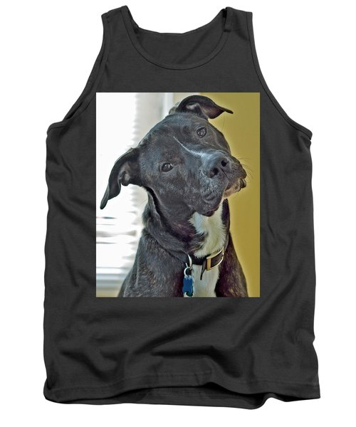 Tank Top featuring the photograph Charlie by Lisa Phillips