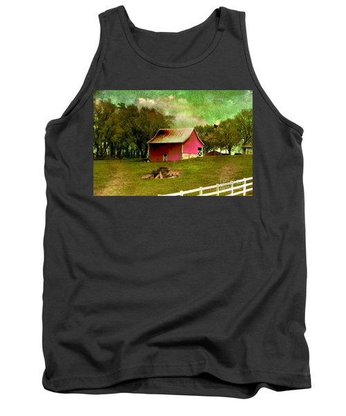 Tank Top featuring the photograph Chartreuse Of Legend by Liane Wright