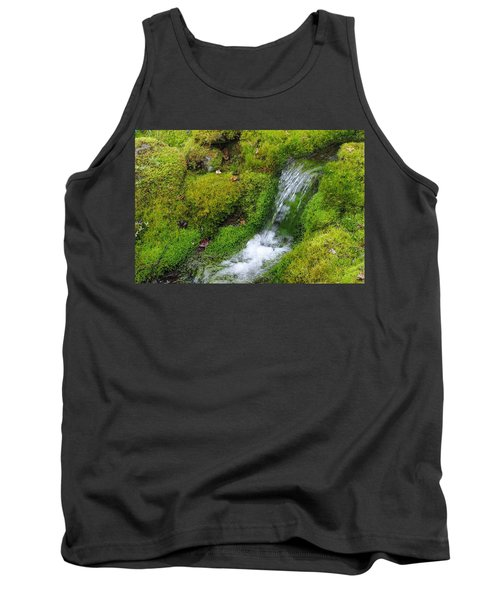 Tank Top featuring the photograph Chasing Waterfalls by Marilyn Wilson