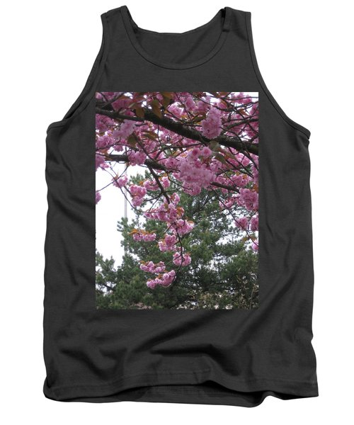 Cherry Blossoms 1 Tank Top by David Trotter