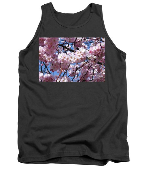 Cherry Blossom Trees Of Branch Brook Park 3 Tank Top