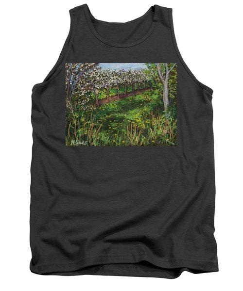 Cherry Orchard Evening Tank Top