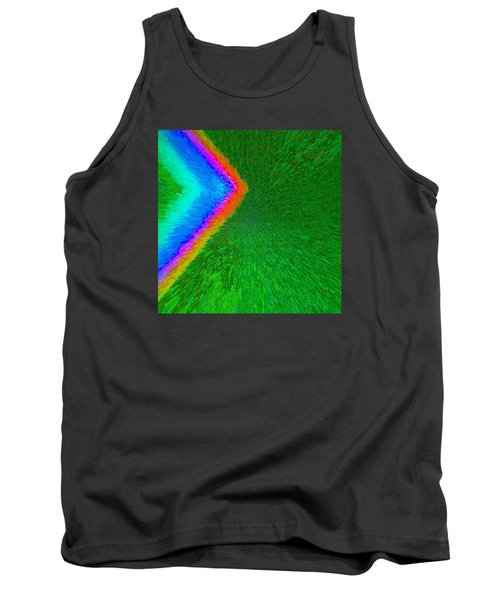 Chevron Rainbow C2014 Tank Top