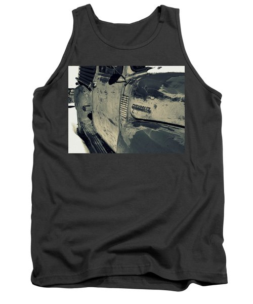 Arroyo Seco Chevy In Silver Tank Top