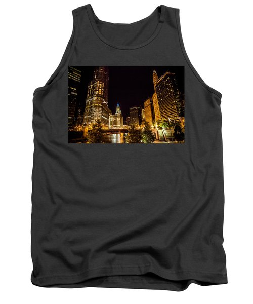 Chicago Riverwalk Tank Top by Melinda Ledsome