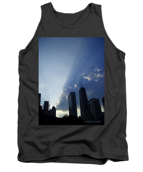 Chicago Sunset Tank Top by Verana Stark