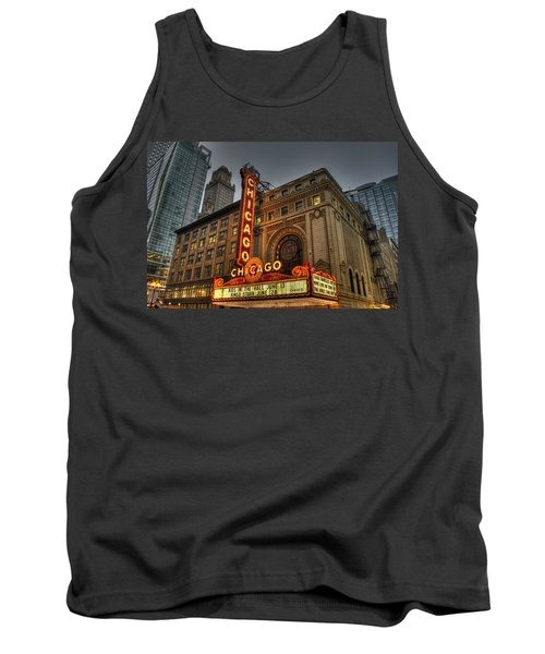 Chicago Theatre Hdr Tank Top