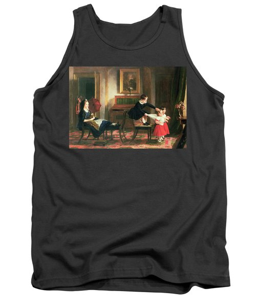 Children Playing At Coach And Horses Tank Top