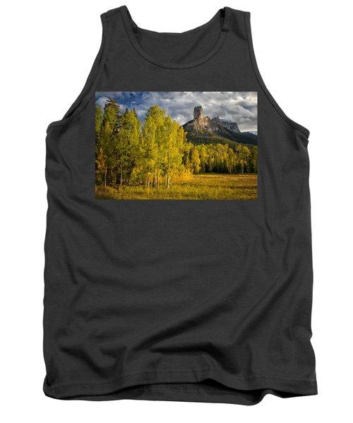 Chimney Rock San Juan Nf Colorado Img 9722 Tank Top