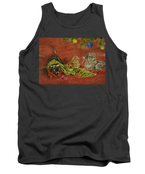Christmas Friends Tank Top