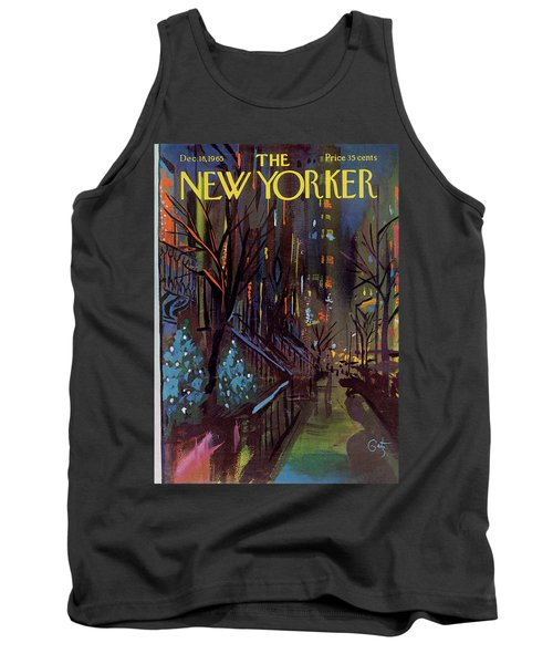 Christmas In New York Tank Top