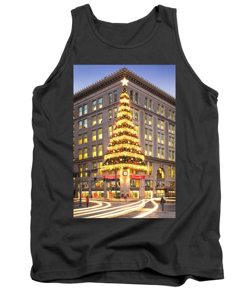 Christmas In Pittsburgh  Tank Top