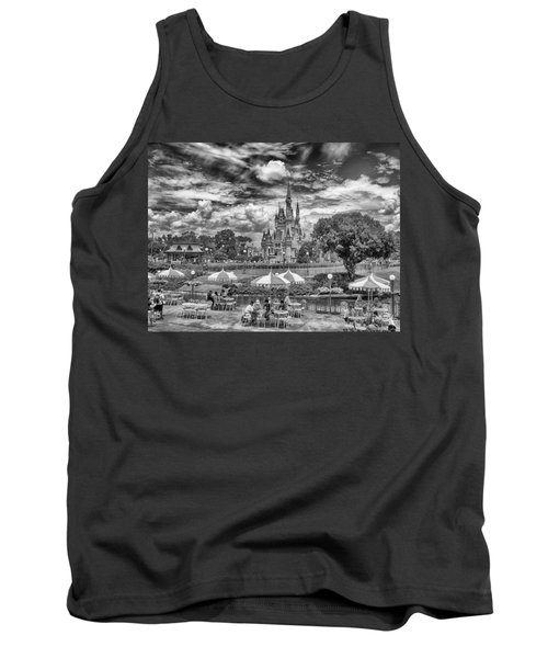 Tank Top featuring the photograph Cinderella's Palace by Howard Salmon