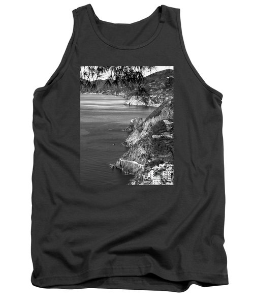 Cinque Terre Coastline Tank Top