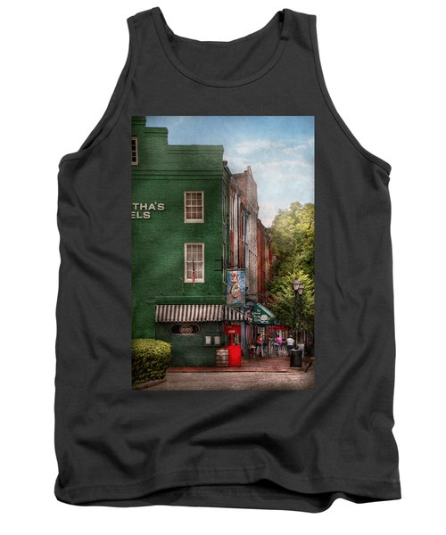 City - Baltimore - Fells Point Md - Bertha's And The Greene Turtle  Tank Top