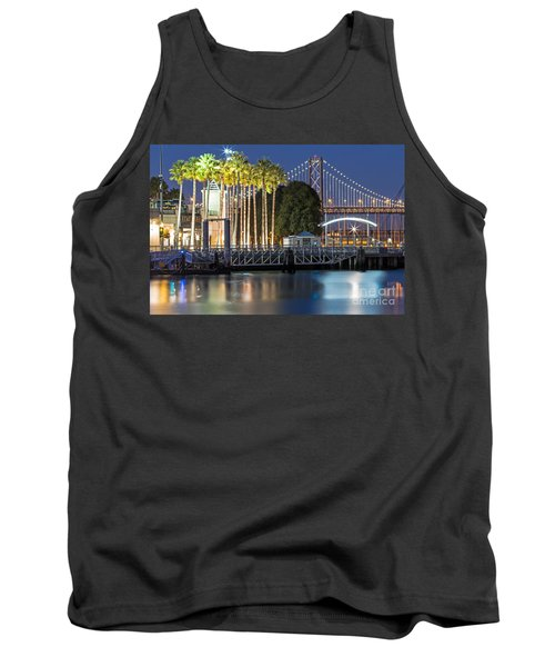 City Lights On Mission Bay Tank Top