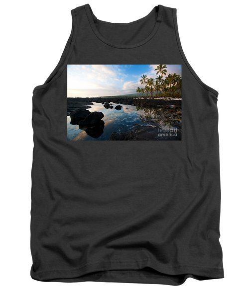 City Of Refuge Beach Tank Top by Mike Reid