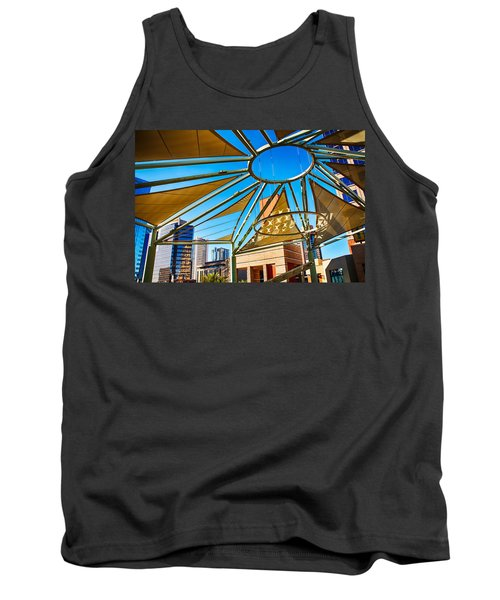 City Shapes Tank Top by Fred Larson