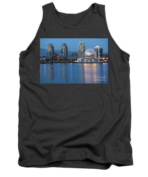 City Skyline -vancouver B.c. Tank Top