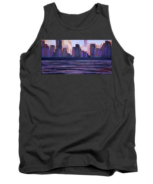 City Sunset Tank Top
