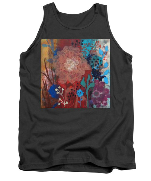 Tank Top featuring the painting Clarity by Robin Maria Pedrero