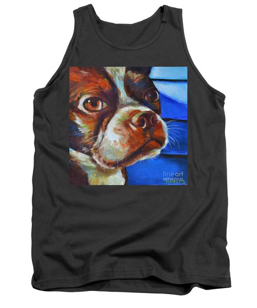 Tank Top featuring the painting Classy Hank by Robert Phelps
