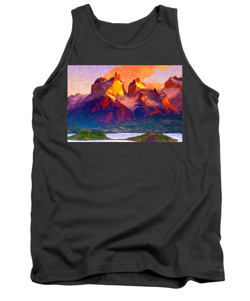 Cleft Summit Tank Top