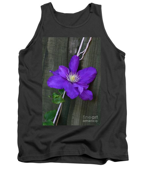 Clematis On A String Tank Top