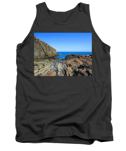 Cliff House Maine Coast Tank Top
