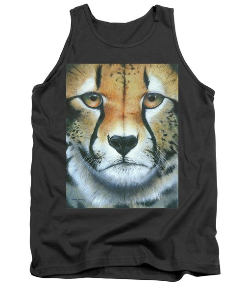 Tank Top featuring the painting Close To The Soul by Mike Brown