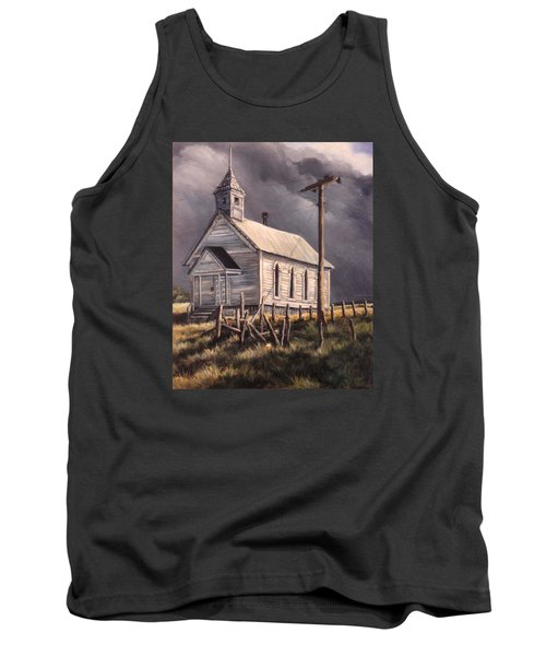 Closed On Sundays Tank Top by Donna Tucker