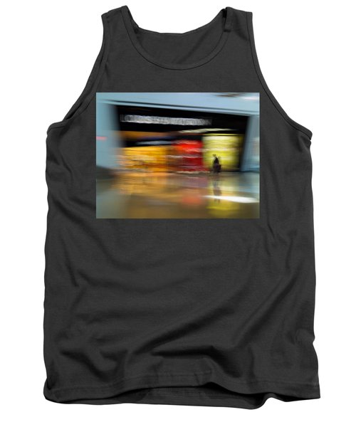 Tank Top featuring the photograph Closing In by Alex Lapidus